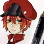Red Blood Cell By AnnaKumi on Instagram