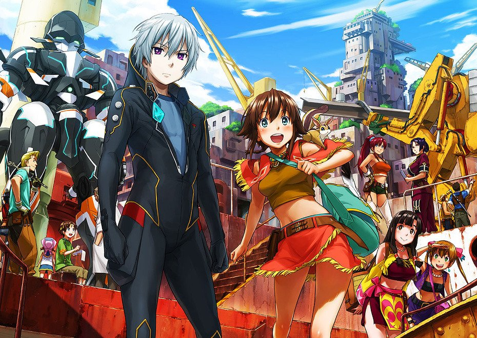 Top 5 Mecha Anime