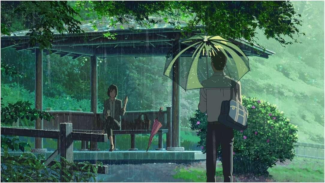 Top 5 Underrated Slice of Life Anime -Garden of Words