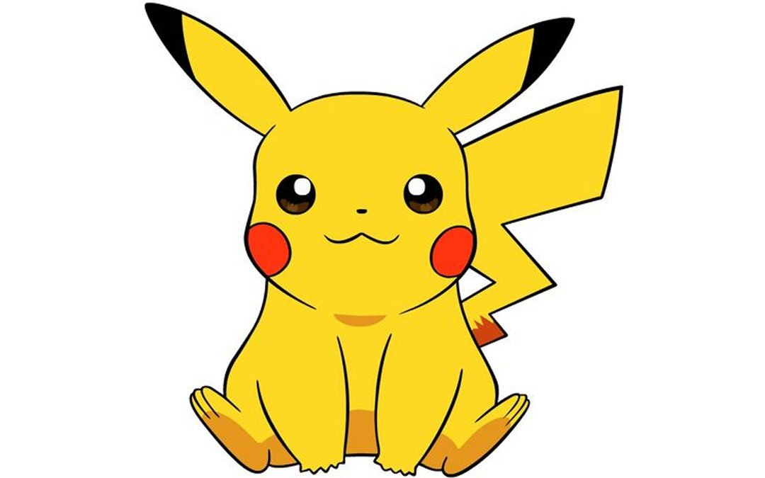 Pikachu - From The Pokemon - Drawing Characters