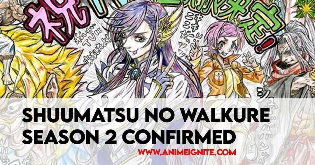 Shuumatsu no Walkure Season 2 Confirmed