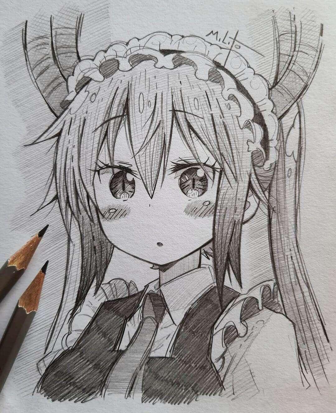 Tohru (Kobayashi-san chi no Maid Dragon) by milito3.art