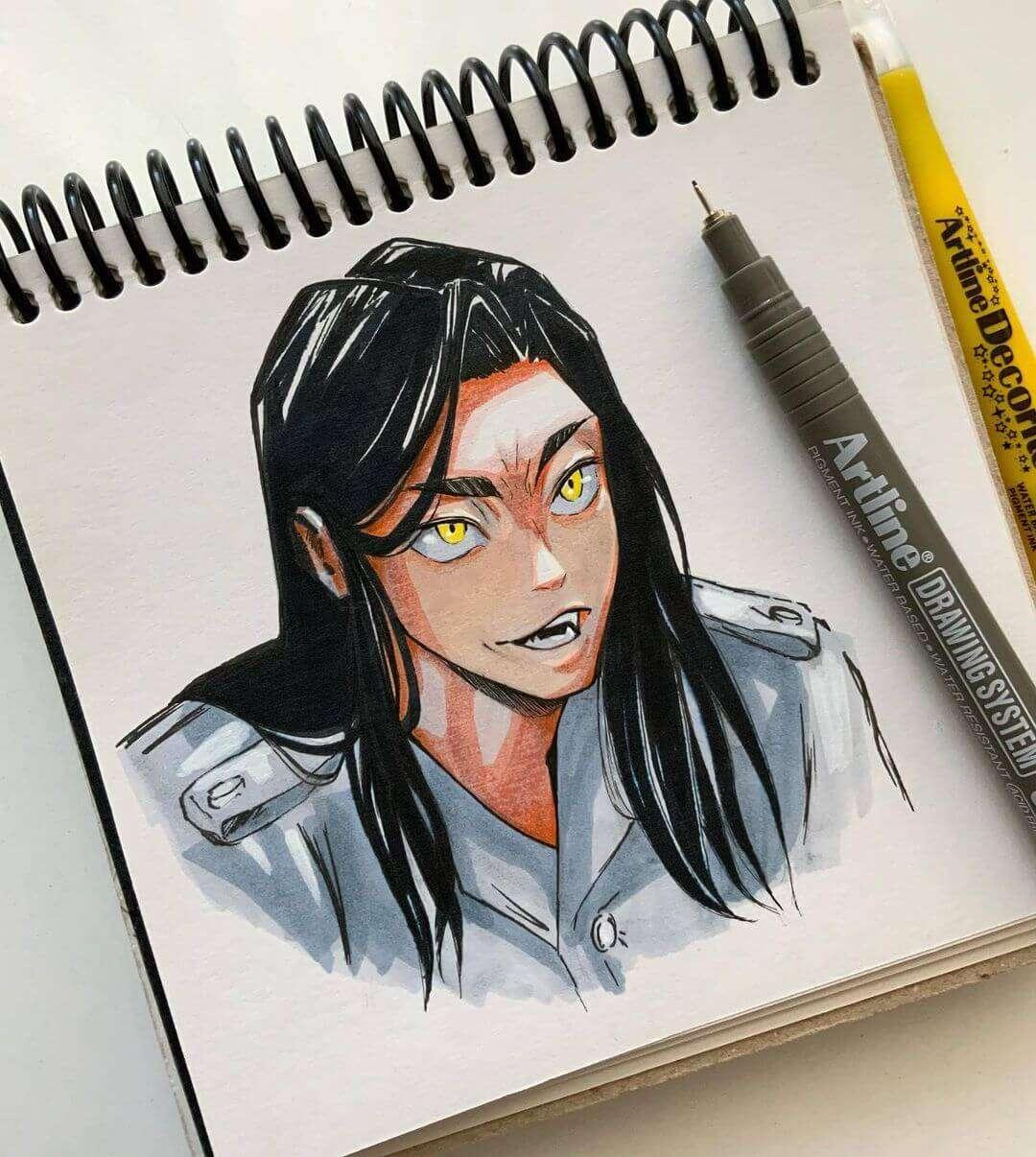 Baji Keisuke (Tokyo Revengers) by karniale