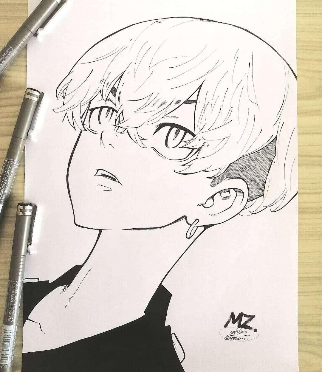Chifuyu (Tokyo Revengers) by mozhemo Anime Art of the Week